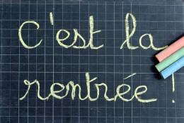 C'est la Rentrée!!!